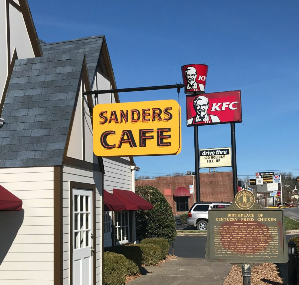 Sanders Cafe Corbin Kentucky