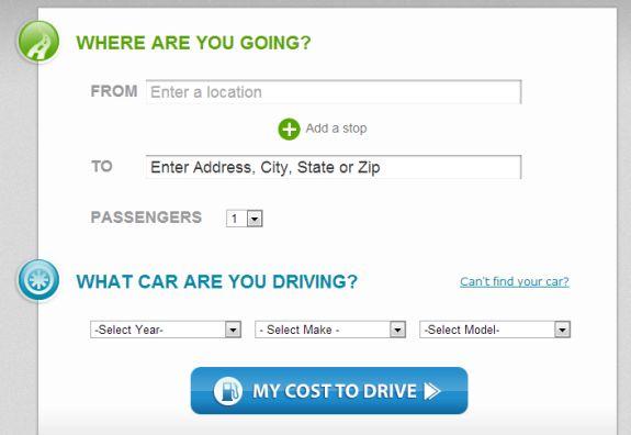 Cost 2 Drive