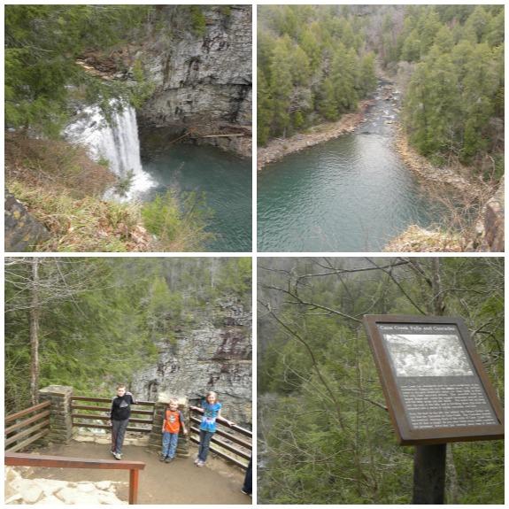 Cane Creek Falls & Cascades