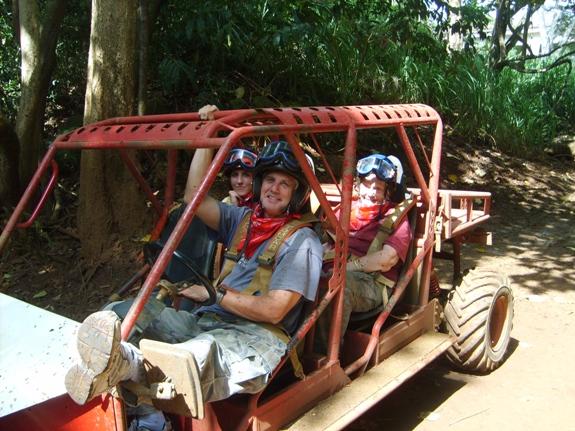 Kauai ATV Mud Buggy