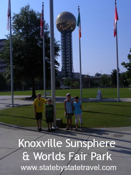 Knoxville Sunsphere and Worlds Fair Park