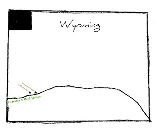 Crossing Wyoming on I-80