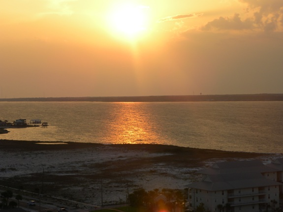 Travel Memories – Sunset on Navarre Beach