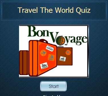 travel the world quiz