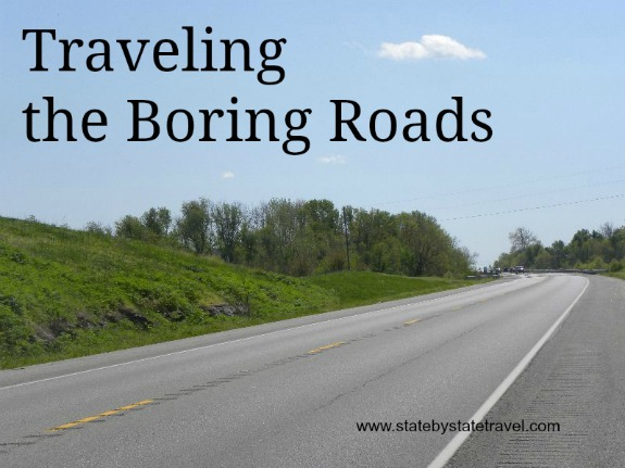 Traveling the Boring Roads