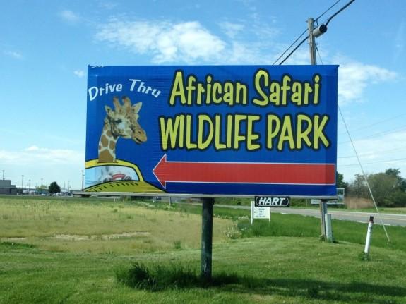 african safari wildlife park