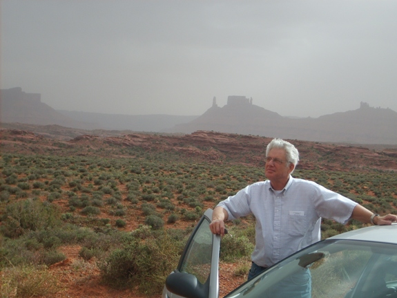 Travel Memories – Dad in Utah