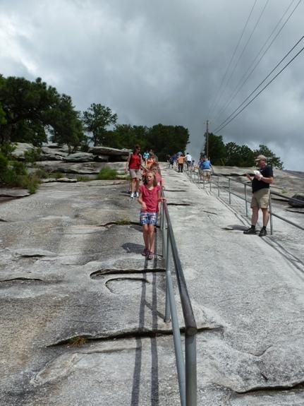 hiking rail to the top