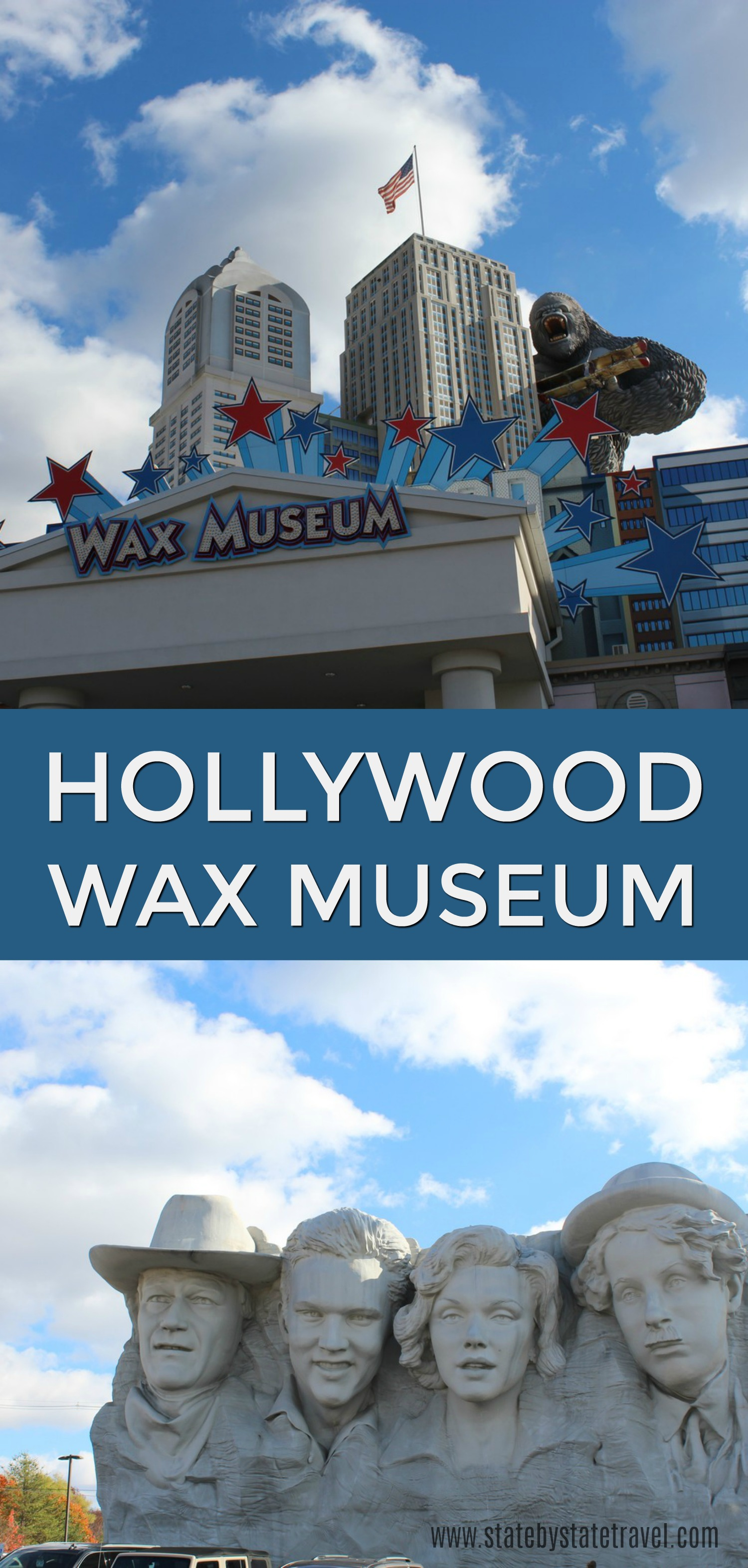 hollywood wax museum pigeon forge tn
