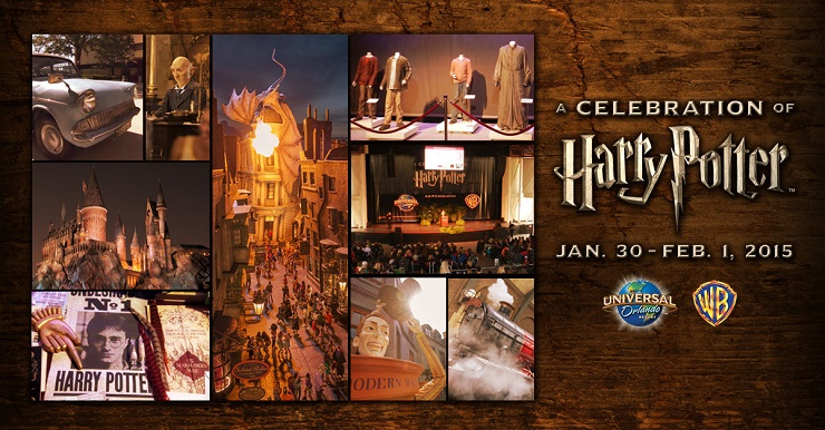 "If you are a Harry Potter fan, then you won't want to miss ""A Celebration Of Harry Potter"" at Universal Studios in Orlando, Fl Jan 30th - February 1st."