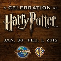 A Celebration of Harry Potter At Universal Studios 1/30/15-2/1/15