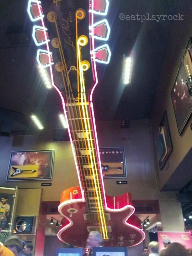 Hard Rock Cafe Times Square Pictures