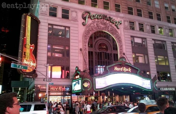 Pictures Of Hard Rock Cafe Times Square NY