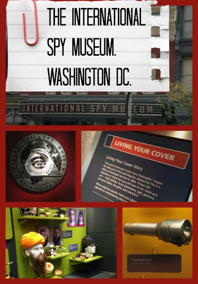 Becoming A Spy At The International Spy Museum In Washington DC