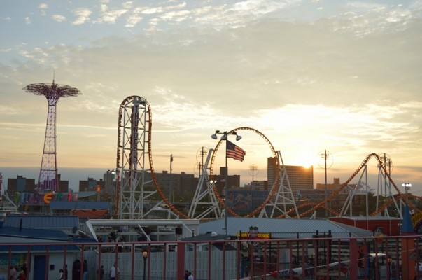 Coney Island Sunset Pictures