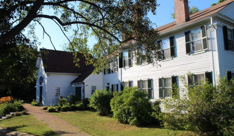 Visiting the Pierce Manse:  New Hampshire