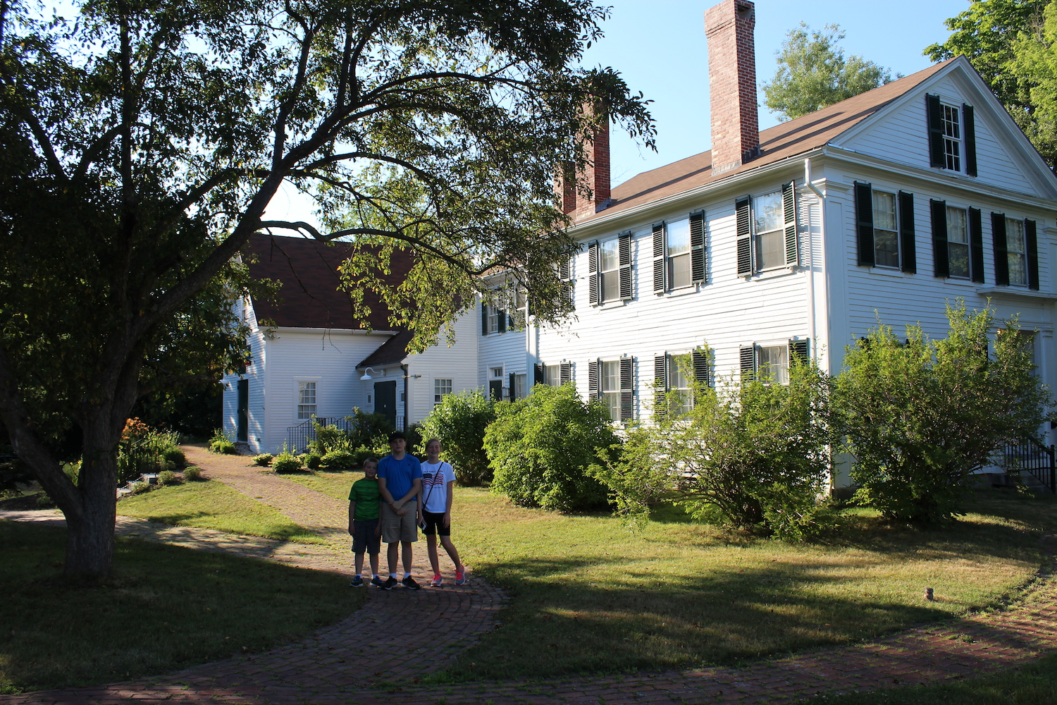 The Pierce Manse: Concord, New Hampshire