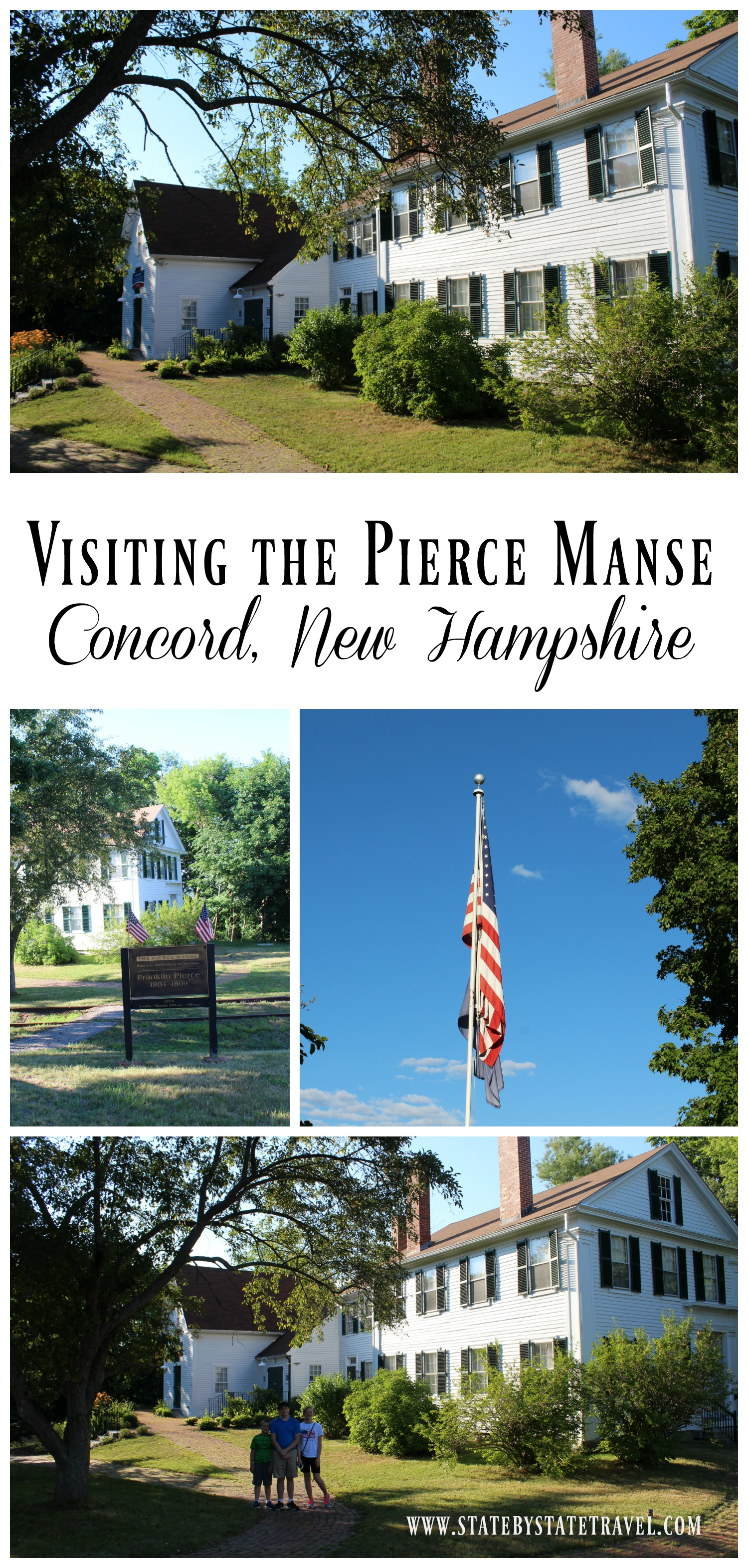 Visiting the Pierce Manse New Hampshire