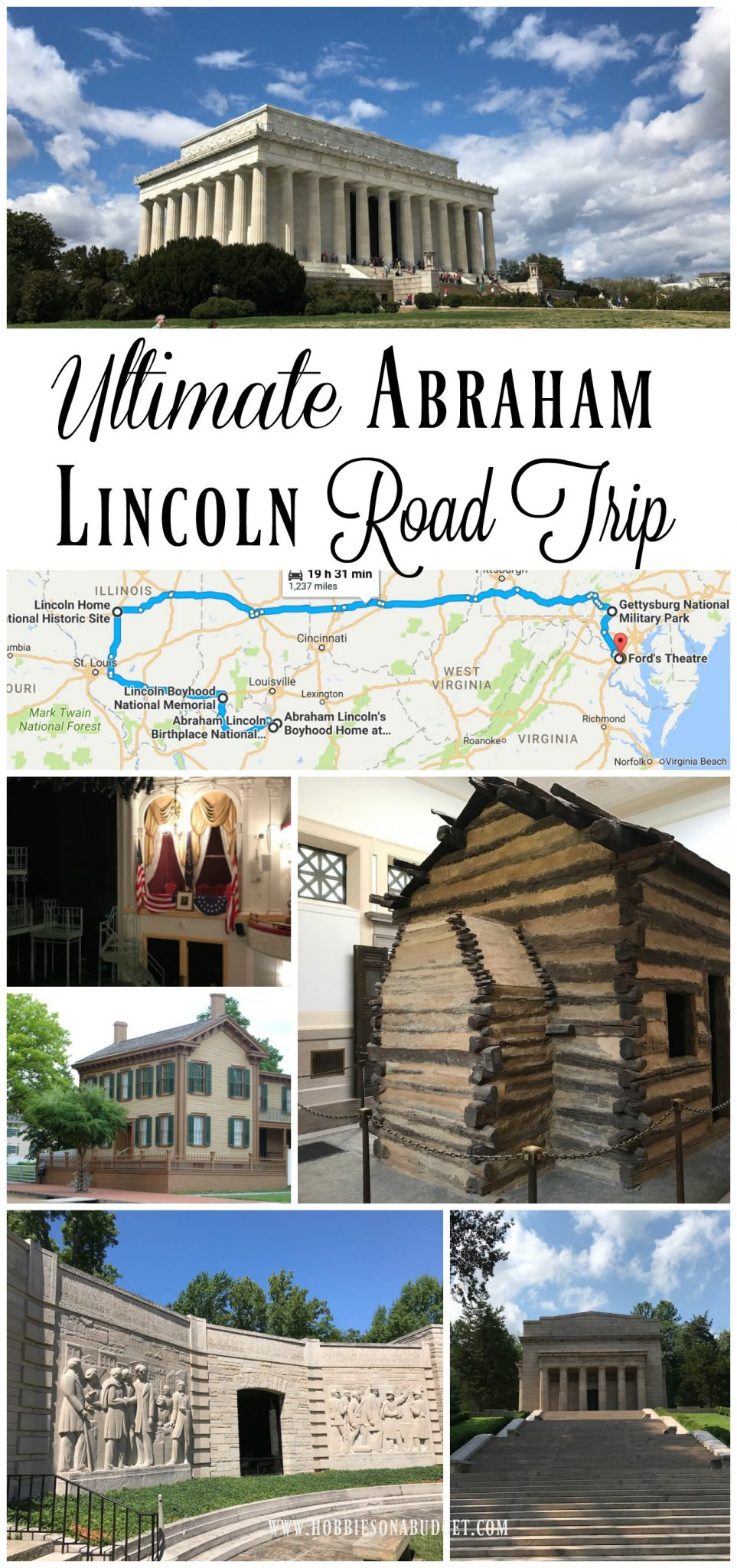 Ultimate Abraham Lincoln Road Trip