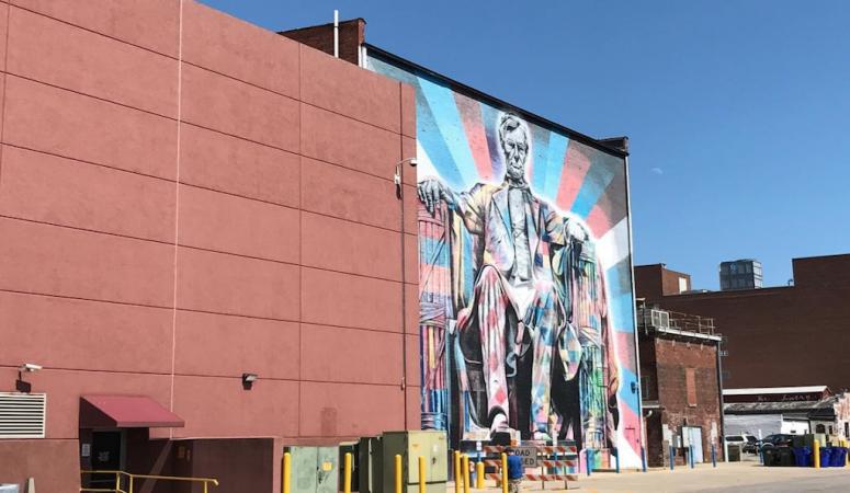 Lincoln Street Art in Lexington
