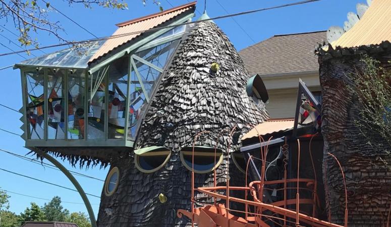 Mushroom House in Cincinnati, Ohio