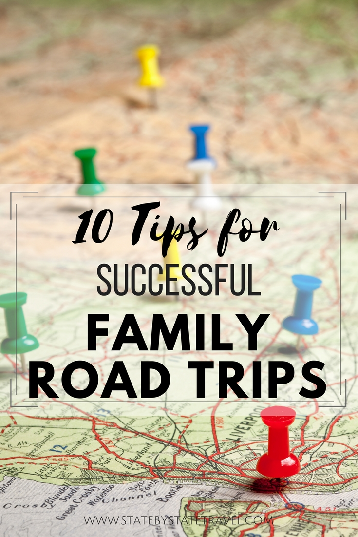 10 Tips for Successful family Road Trips
