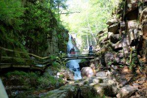 flume gorge franconia state park nh