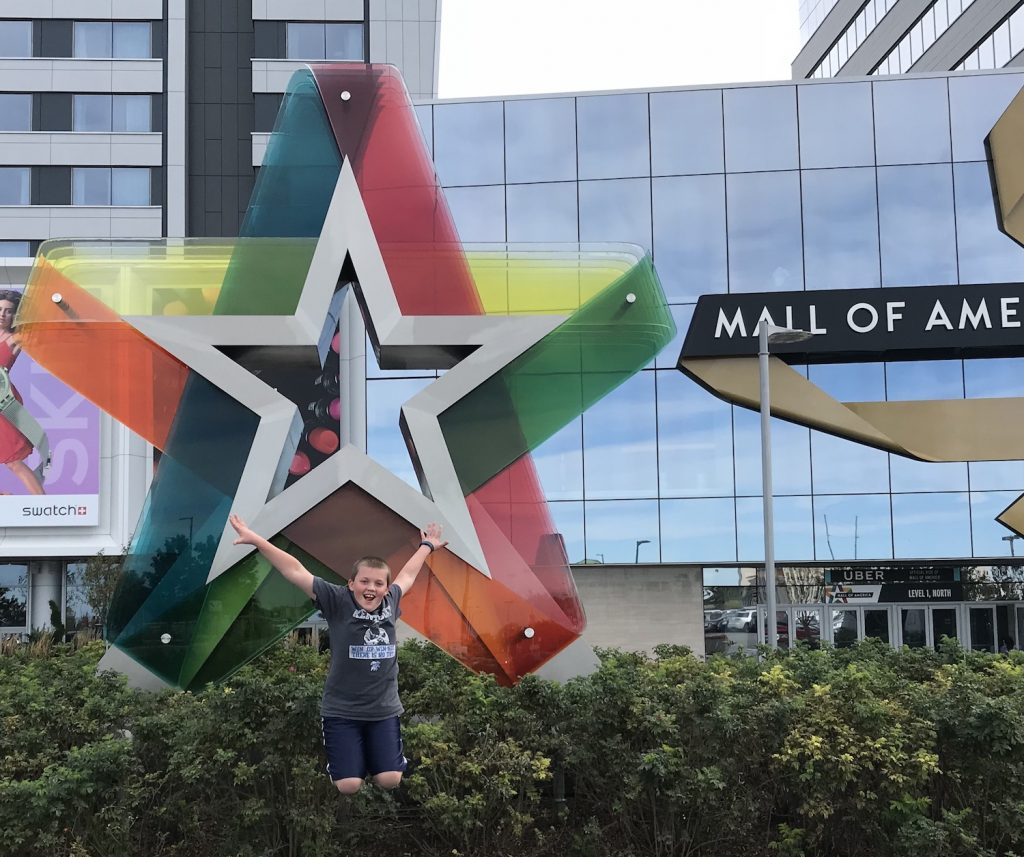 Family Fun at Mall of America