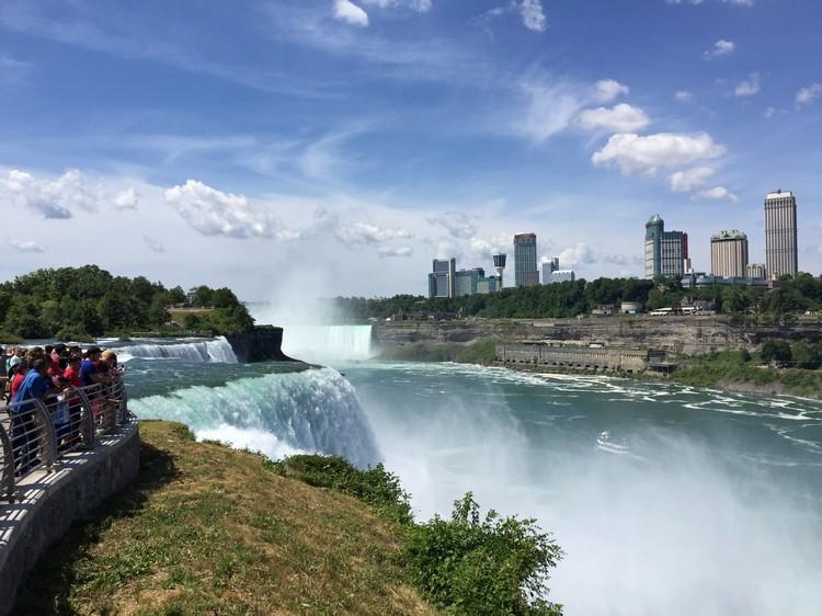 Visiting Niagara Falls