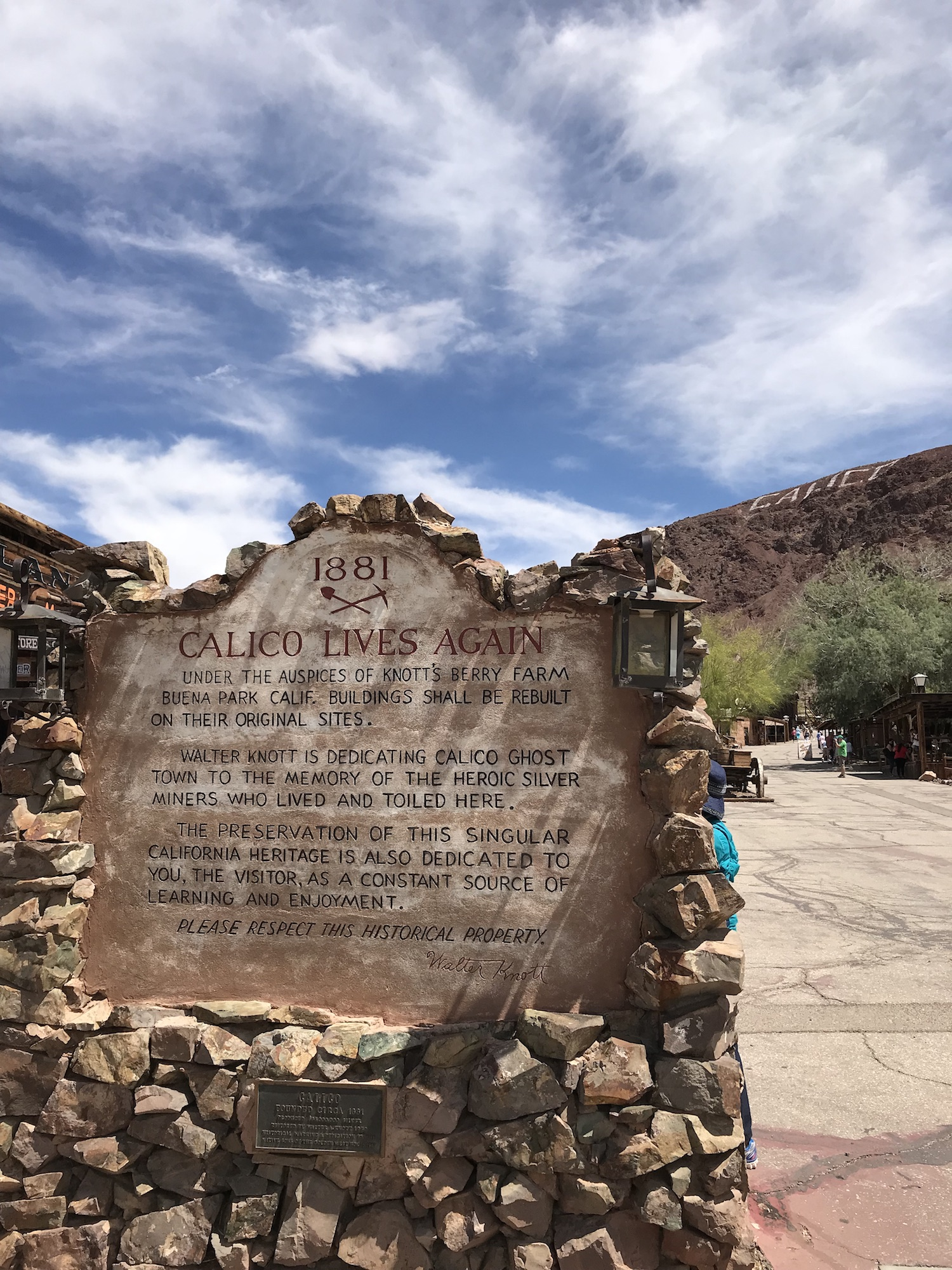 Calico Ghost Town Yermo California