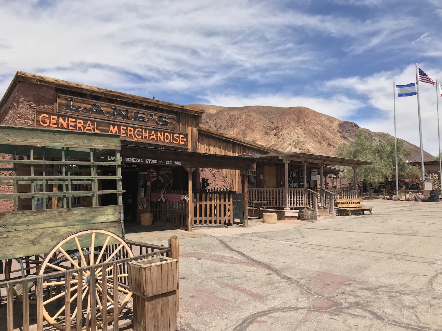 Calico Ghost Town: Yermo California