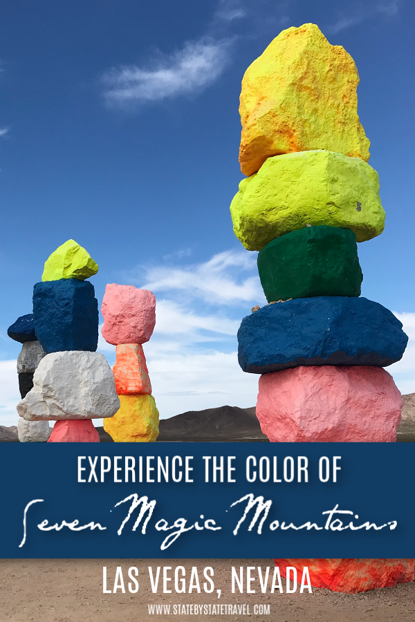 Experience the color of Seven Magic Mountains