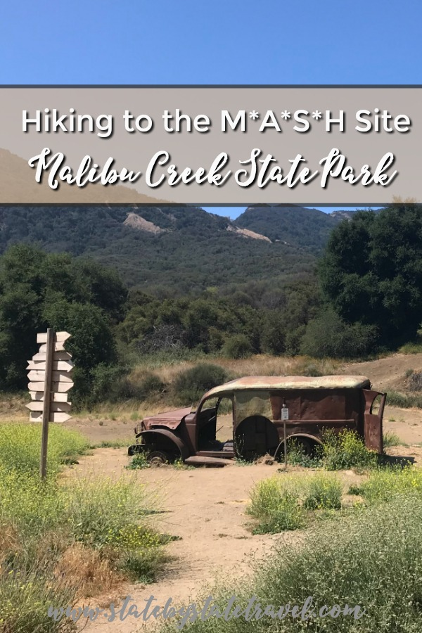 hiking to the mash site