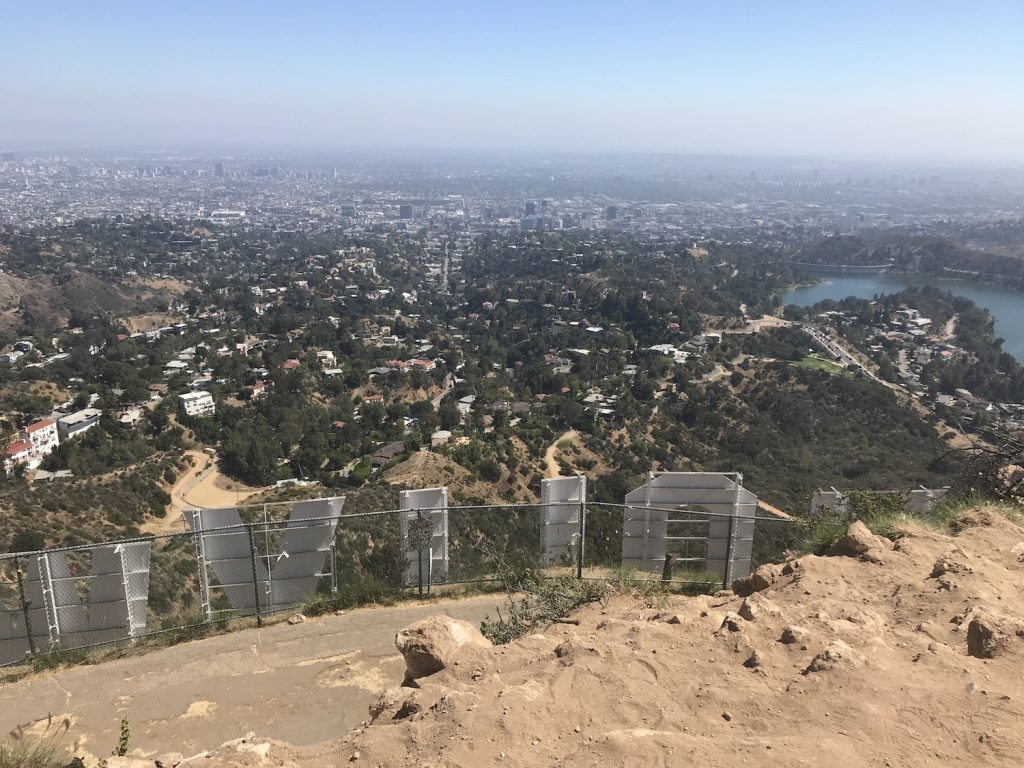 Visiting the Hollywood Sign