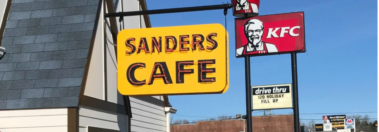 colonel sanders cafe